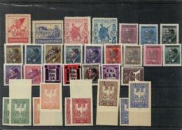 LOT TCHECOSLOVAQUIE NON IDENTIFIES - Stamps