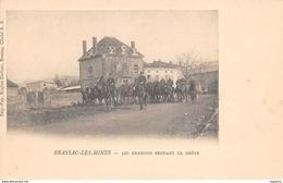 63-BRASSAC LES MINES-LES DRAGONS PENDANT LA GREVE-N°R2046-D/0357 - France