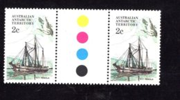 835929685 1974-81 SCOTT L38 POSTFRIS MINT NEVER HINGED EINWANDFREI (XX)  SHIPS GUTTERPAIR - Territoire Antarctique Australien (AAT)