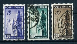 Italia Nº 539/41 Usado Cat.50€ - 1946-60: Usados