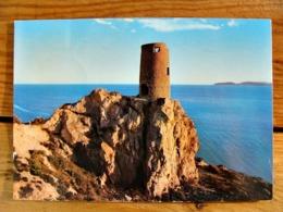 (FG.Y53) NORA - ANTICA TORRE SUL MARE (PULA, CAGLIARI) Viaggiata 1971, Annullo Sarroch - Cagliari