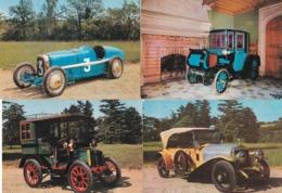 Lot 20 Cpm 10x15 . AUTOS / VIEUX TACOTS (Musée De L'Automobile Rochetaillée Sur Saône) - Turismo