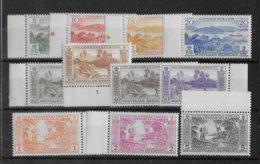 NOUVELLES HEBRIDES - YVERT N° 175/185 ** MNH - COTE = 88.5 EUR. - - Leyenda Francesa