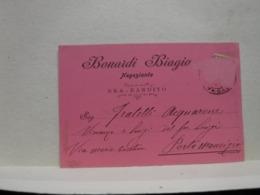 BRA   --- CUNEO --- BONARDI  BIAGIO  -- NEGOZIANTE - Cuneo