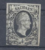 Sachsen 3 A Gest. - Sachsen