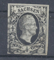 Sachsen 3 A Gest. - Saxony