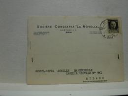 BRA   --- CUNEO ---  SOCIETA' CONCIARIA  LA NOVELLA  -- SARTORI  & C. - Cuneo