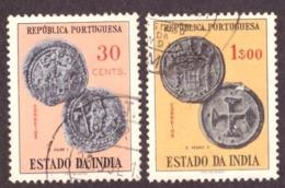 India Portuguese 1959 - Coins / Moedas / Monnaies  30c / 1$00 - Inde Portugaise