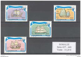 Somalie. Bateaux.  Série De 4 Timbres Neufs ** - Somalie (1960-...)