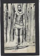 CPA Madagascar Afrique Noire écrite Prisonnier - Madagascar
