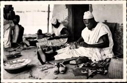Cp Französisch Kongo, Oubangui, Savetier Haoussa, Schuhmacher - Südafrika