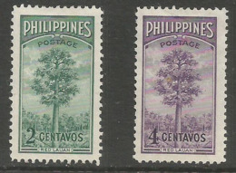Philippines - 1950 Bureau Of Forestry MH *     Mi 506-7   Sc 540-1 - Philippines