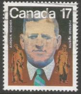 Canada. 1981 Birth Centenary Of Aaron R Mosher. 17c Used SG 1022 - 1952-.... Reign Of Elizabeth II