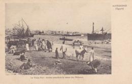 Egypte - Alexandrie - Le Vieux Port - Arabes Attendant Le Retour Des Pêcheurs - Alexandrie