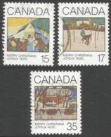 Canada. 1980 Christmas. Used Complete Set. SG 993-995 - 1952-.... Reign Of Elizabeth II