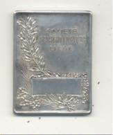"""Médaille, Certainement En Argent,de La """" Société Ornithologique De Liège """" +/- 1925 - Exposition D'oiseaux,... (SL) - Belgique"""