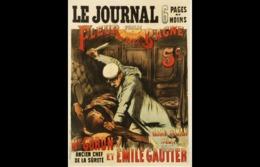@@@ MAGNET - Le Journal Publie Fleur De Bagne ... Grand Roman Inédit Par Mr. Goron, Ancien Chef De La Sûreté Et Emile Ga - Publicitaires