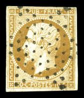 O N°9, 10c Bistrebrun Obl étoile Légère, TB (signé Brun/certificat)  Qualité: O  Cote: 850 Euros - 1852 Louis-Napoleon