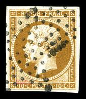 O N°9a, 10c Bistrebrun, Obl étoile, TTB (signé Margues/certificat)  Qualité: O  Cote: 950 Euros - 1852 Louis-Napoleon