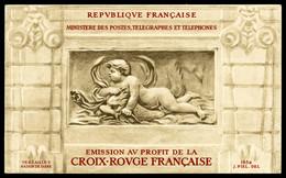** Carnet Croix Rouge 1952, TB (certificat)  Qualité: **  Cote: 550 Euros - Carnets
