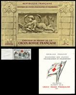 ** 1952/2008, Collection Complète Comprenant 57 Carnets Différents + Tous Les Timbres Croix Rouge Depuis 1914 (dont N°15 - Carnets