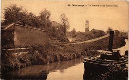 CPA MAUBEUGE - La Samre Et Les Fortificatoins (126903) - Maubeuge