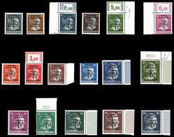 ** N°1/19, RAVENSBURG, Série Complète (sauf 10 Et 12), Les 17 Valeurs TB  Qualité: **  Cote: 1146 Euros - Liberación