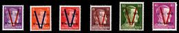 ** N°3/10, WURTEMBERG (Allemagne): N°3, 4, 5, 6, 9 Et 10, Les 6 Valeurs TB (signés Calves/certificat)  Qualité: **  Cote - Liberación