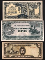 The Japanese Government 9 Notes  LOTTO 2775 - Japan
