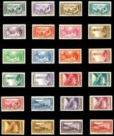 * N°24/45, Série Des Paysages De 1932. TB  Qualité: *  Cote: 450 Euros - French Andorra