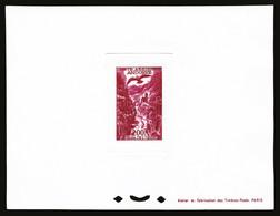 (*) N°2/3, 100F Vertfoncé Et 200F Rose Carminé En Epreuve De Luxe, TB  Qualité: (*) - Airmail