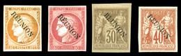 * N°11/14, N°11(*), Les 4 Valeurs TTB (certificat)  Qualité: *  Cote: 880 Euros - Réunion (1852-1975)