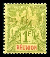 * N°32/44, Série De 1892, B/TB  Qualité: *  Cote: 400 Euros - Réunion (1852-1975)