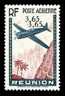 ** N°2c/3b/5c, Chiffres De La Valeur Doublés Sur 3F65 Bleu Et Rouge Carmin, 6F65 Brun Et 12F65 Brun Et Vertjaune, SUP (c - Réunion (1852-1975)