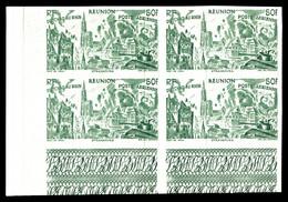 ** N°36/41, Série Tchad Au Rhin Non Dentelée En Blocs De 4 Cdf. TTB  Qualité: **  Cote: 360 Euros - Réunion (1852-1975)