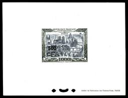 (*) N°51, 500F Sur 1000F Paris: épreuve De Luxe Sur Fond Blanc. TTB (certificat)  Qualité: (*)  Cote: 750 Euros - Réunion (1852-1975)