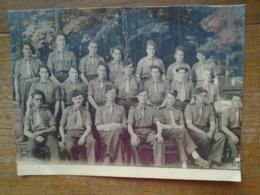 Grande Photo ( 24 X 17,5 Cm ) De Groupe Militaire - Guerre, Militaire
