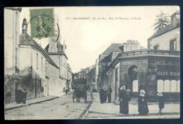 Cpa Du 22 Guingamp Rue St Nicolas , La Poste     LZ62 - Guingamp