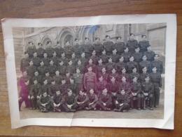 Grande Photo ( 30 X 20 ) De Groupe Militaire - Guerre, Militaire