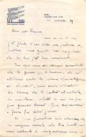 """08659 """"GRANDE ALBERGO DELLE NAZIONI - BARI - 31 MARZO 1939"""" LETTERA AUTOGRAFA SU CARTA INTESTATA ORIG. - Manoscritti"""