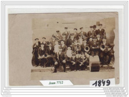 7339 AK/PC/CARTE PHOTO/1849 FANFARE A IDENTIFIER/TTB - Cartoline