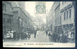 Cpa Du 22 Guingamp  Rue Des Ponts Saint Michel   LZ62 - Guingamp