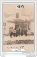 7333 AK/PC/CARTE PHOTO/1843/HOTEL ET CAFE A IDENTIFIER/1915/TTB - Cartoline