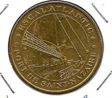 Jeton Touristique 44 Escal Atlantic   2001 - Monnaie De Paris
