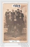 7321 AK/PC/CARTE PHOTO/1829 MUSICIENS CONSCRITS A IDENTIFIER - Cartoline