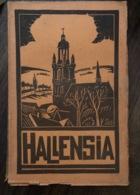 Hallensia - Over De Stad Halle - Vlaams Brabant - 1933 - Histoire
