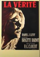 """CPM. > Cinema > Affiches Sur Carte > Brigitte BARDOT - """" La Vérité 1960 """" - TBE - Posters On Cards"""