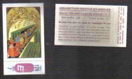 Q368 - IMAGE CHOCOLAT NESTLE - PETIT TRAIN DES CAVES CHAMPAGNE MERCIER - Chocolate