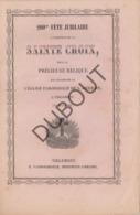 TIENEN/TIRLEMONT 200me Fête Jubilaire Sainte Croix - Sint Germanus 1866  (R70) - Oud