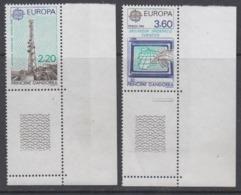 Europa Cept 1988 Andorra Fr 2v (corners) ** Mnh (44687) - Europa-CEPT